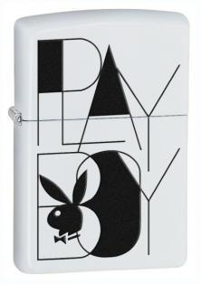Zippo Playboy Black White 26454 lighter