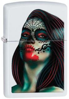 Zippo Day of the Dead Lady Tattoo 26010 lighter