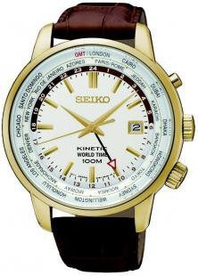 Seiko SUN070P1 Kinetic Worldtime watch