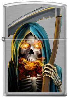 Zippo Flaming Reaper 3687 lighter
