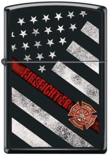 Zippo Fire Fighter Flag 4953 lighter