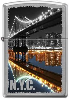 Zippo New York City Manhattan Bridge 7841 lighter