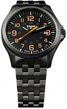 Traser P67 Officer Pro GunMetal Black/Orange 107870 watch