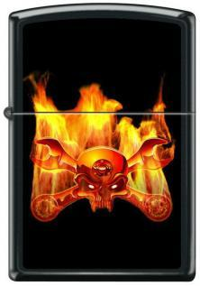 Zippo Metal Jolly Roger 6118 lighter