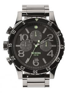 Nixon 48-20 Chrono Polished Gunmetal A486 1885 watch