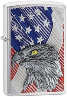 Zippo 29508 USA Flag Eagle lighter