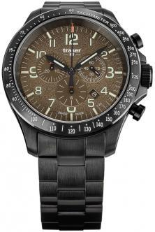 P67 Officer Pro Chronograph Khaki Steel 109460 watch