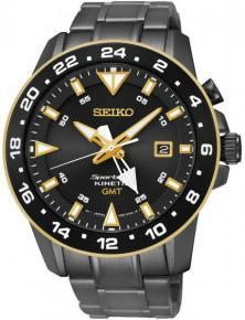 Seiko SUN026P1 Sportura GMT Kinetic watch