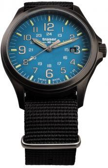 Traser P67 Officer Pro GunMetal SkyBlue 108647 watch