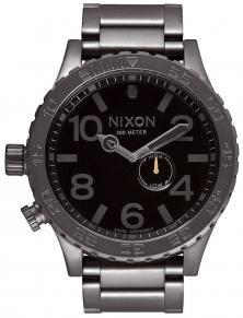 Nixon 51-30 Tide All Gunmetal Black A057 680 watch