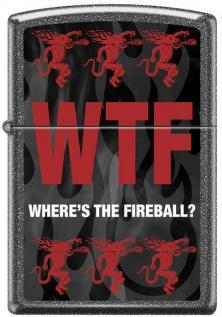 Zippo Fireball Whiskey WTF 0043 lighter
