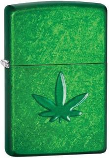 Zippo Cannabis Stamped Leaf 29673 lighter
