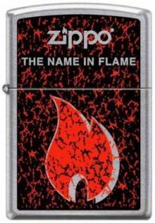 Zippo The Name In The Flame 7011 lighter