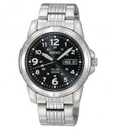 Seiko SNE095P1 Solar Military watch