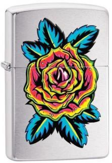 Zippo Flower Tattoo 21014 lighter