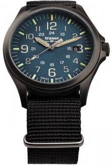 Traser P67 Officer Pro GunMetal Blue 108632 watch