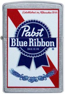 Zippo Pabst Blue Ribbon Beer 49078 lighter