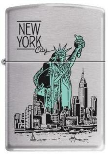 Zippo NY City Statue of Liberty 9127 lighter