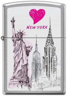 Zippo New York 7038 lighter