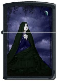 Zippo Gothic Lady in Black 7219 lighter