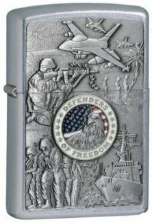 Zippo Joined Forces Emblem 24457 lighter