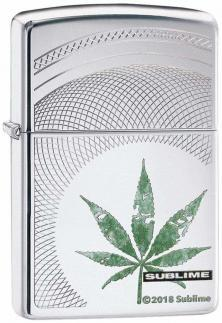 Zippo Sublime Cannabis Leaf 49016 lighter