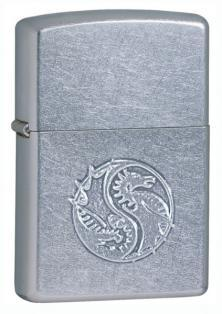 Zippo Raised Dragon Stamped 21035 lighter