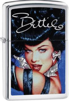 Zippo Bettie Page Olivia De Berardinis 29584 lighter