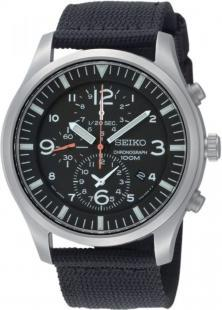 Seiko Chronograph SNDA57P1 Military watch