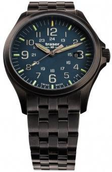 Traser P67 Officer Pro GunMetal Blue 108739 watch