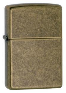 Zippo Antique Brass 201FB lighter