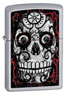 Zippo Skull - Day of the Dead 24883 lighter