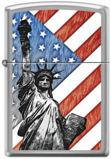 Zippo Statue of Liberty Flag 7619 lighter