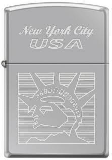 Zippo Statue of Liberty New York 2118 lighter