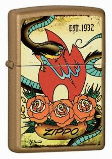 Zippo Tattoo - The Traditions Collection 24043 lighter