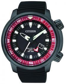 Citizen BJ7085-09E Eco-Drive GMT Diver watch