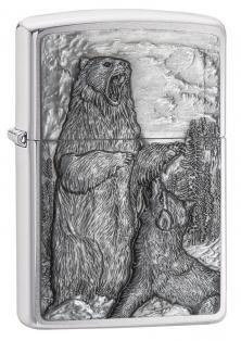 Zippo Bear vs Wolf 29636 lighter