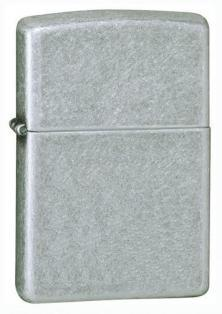 Zippo Antique Silver Plate 121FB lighter
