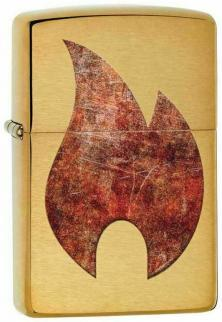 Zippo Rusty Flame Design 29878 lighter