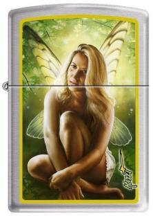 Zippo Mazzi Woman Butterfly Wings 5061 lighter