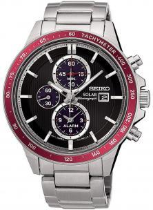 Seiko SSC433P1 Solar Chrono watch