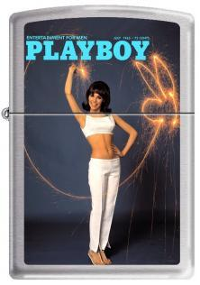 Zippo Playboy Cover 1965 July 1210 lighter