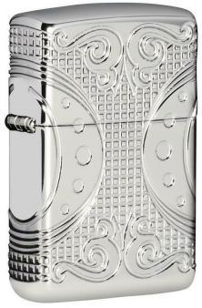 Zippo Geometric Space Design 49037 lighter