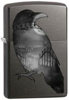 Zippo Double Exposed Raven 26016 lighter