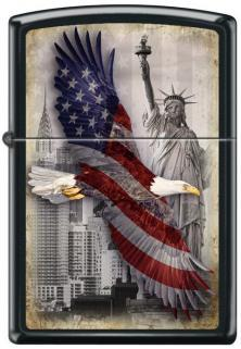 Zippo Eagle Statue of Liberty 2102 lighter