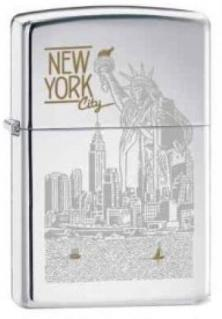 Zippo Statue of Liberty NY City 6357 lighter