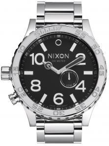 Nixon 51-30 Tide High Polish Black A057 487 watch