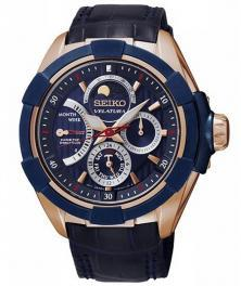 Seiko SRX010P1 Velatura Kinetic Moon Phase watch