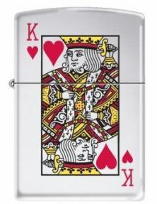 Zippo King of Hearts 7555 lighter
