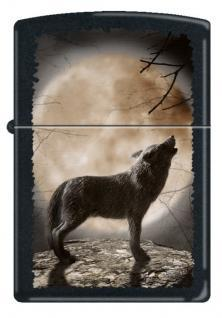 Zippo Wolf Howling To The Moon 3731 lighter